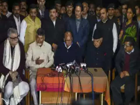 22 opposition parties plan stir if Election Commission fails to act