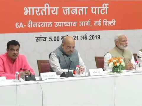 PM Modi meets top bureaucrats of key ministries