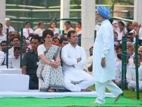 Congress working on pre-result tie-up to nix BJP's plan if NDA falls short