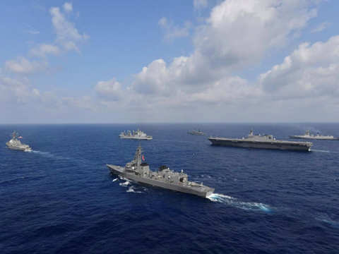 India-Singapore navies concluded maritime exercise