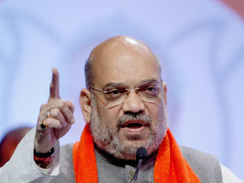 Rattled by likely defeat, opposition questioning EVMs: Amit Shah