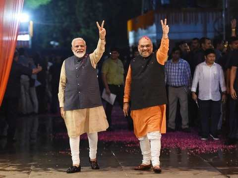 Election Results Highlights: Modi wave sweeps most of India, BJP scores triple-ton, opposition wiped out