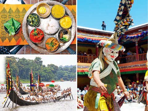 Traveller's diary: Revel at Ladakh's Hemis Festival or take part in Kerala's boat race