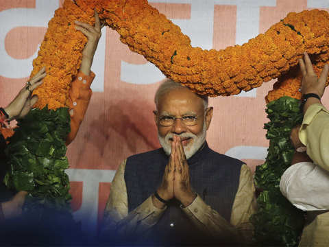 FIIs cheer Modi's landslide win, ask him to fix economy, reforms