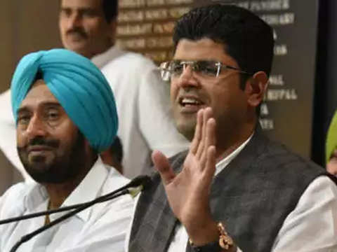 Haryana: After losing to mother in Assembly elections, Dushyant Chautala lost to son in LS polls