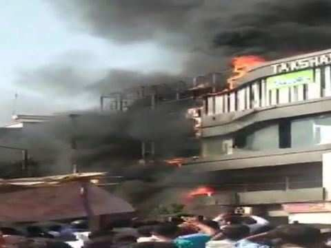 At least 18 students killed in Surat building fire