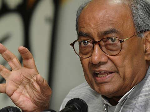 Violent ideology of Gandhi's killer has won: Digvijaya Singh