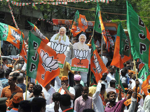 Day after BJP's massive victory, all eyes now on government formation
