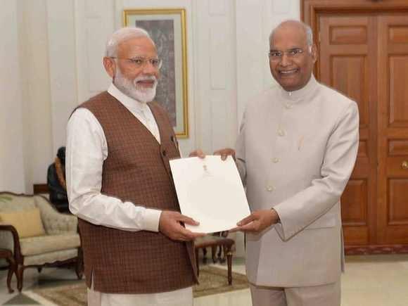 Narendra Modi appointed PM-elect by President Kovind