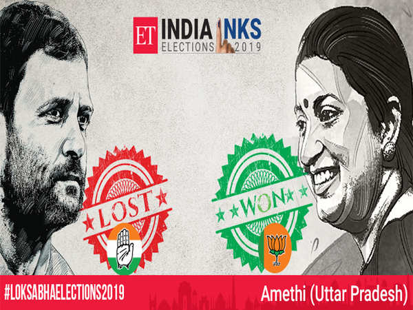 UP Election Results Updates:  Irani's giant-killing act, dethrones Rahul in home turf