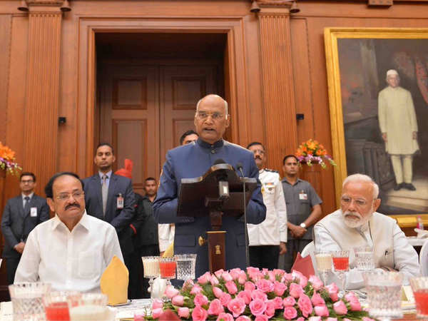 Election Result Updates | Lok Sabha Elections: Prez hosted a banquet in honour of the outgoing Union Council of Ministers