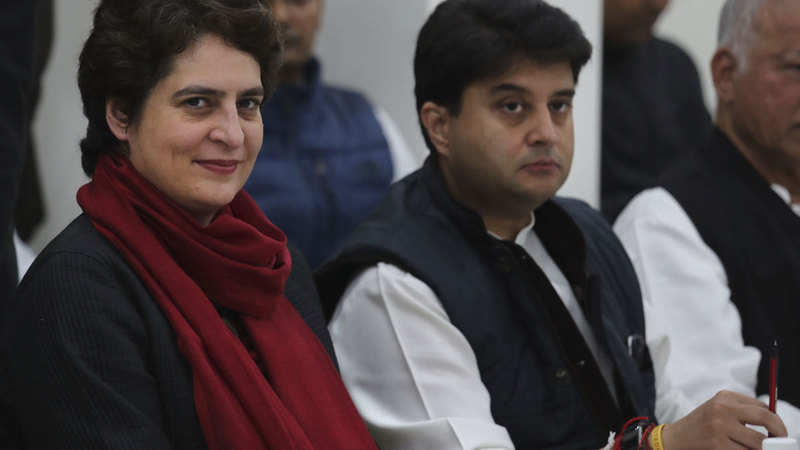 Priyanka Gandhi roars into Uttar Pradesh with roadshow to enthuse Congress workers