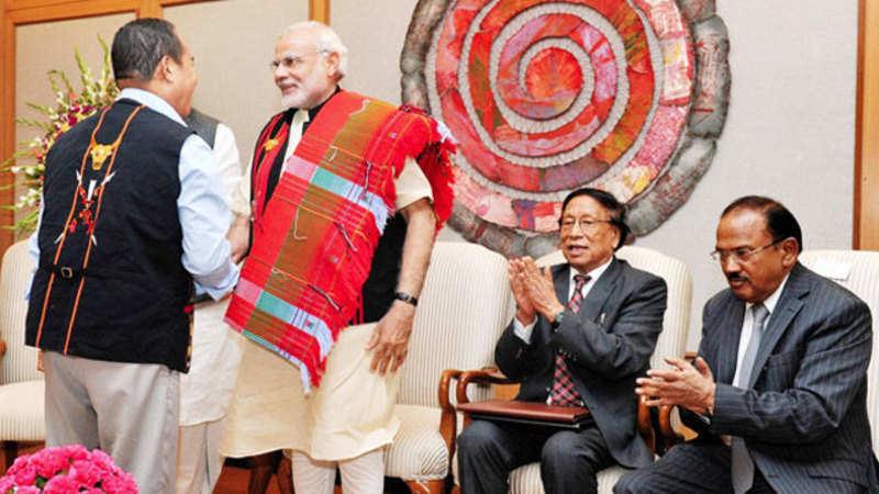 NSCN-IM says Naga Peace Accord signed with PM Narendra Modi