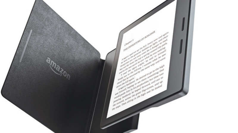 Sales of Amazon's Kindle rose 80% in the year to March in