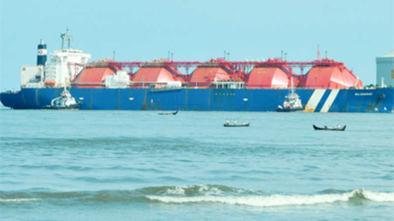 India receives its biggest shipment of liquefied natural gas - The