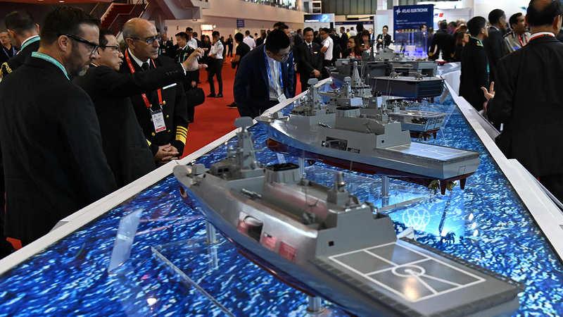 Indian Navy: Indian warships take part in international maritime