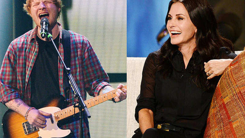 Ed Sheeran To Perform At Courtney Cox S Wedding The