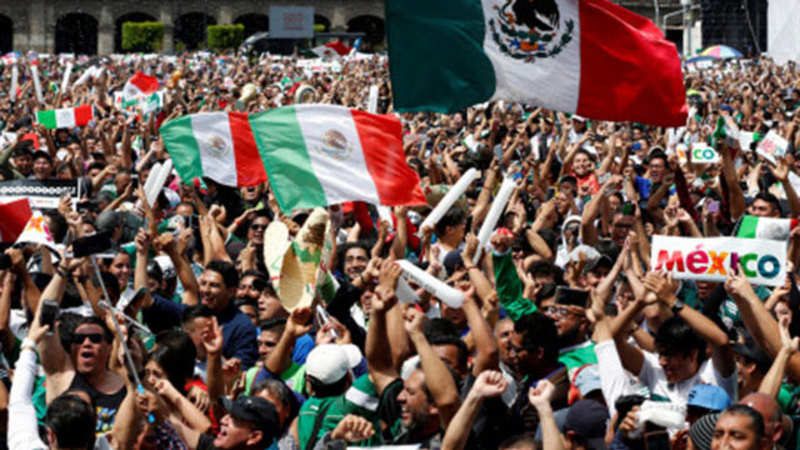 Mexicans jubilant over World Cup win trigger earthquake sensors