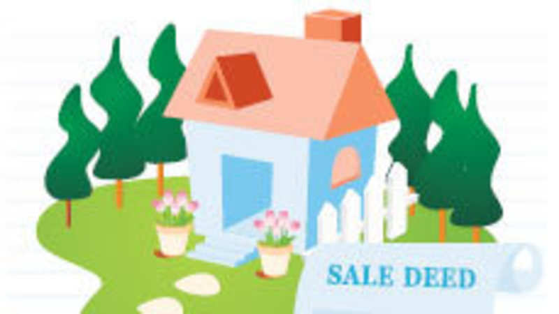 Agreement to sell precedes sale deed - The Economic Times
