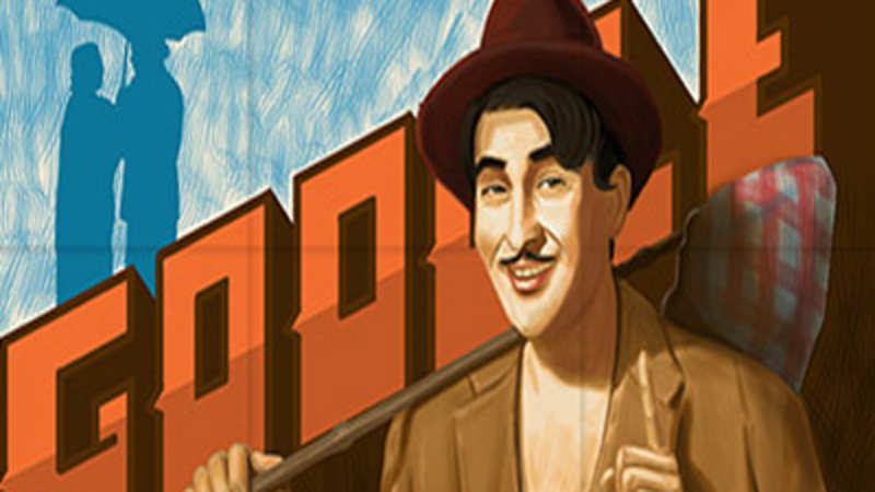Google doodle pays tribute to Raj Kapoor on 90th anniversary - The