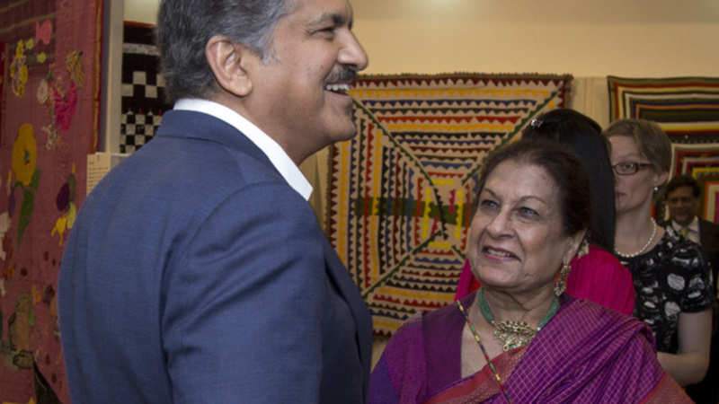 Anand Mahindra's mother-in-law has some tips on quilt-making - The