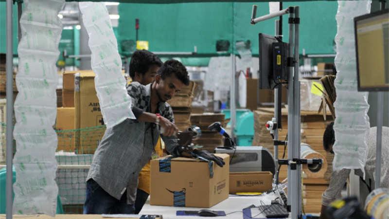 Amazon provides 22,000 seasonal job opportunities