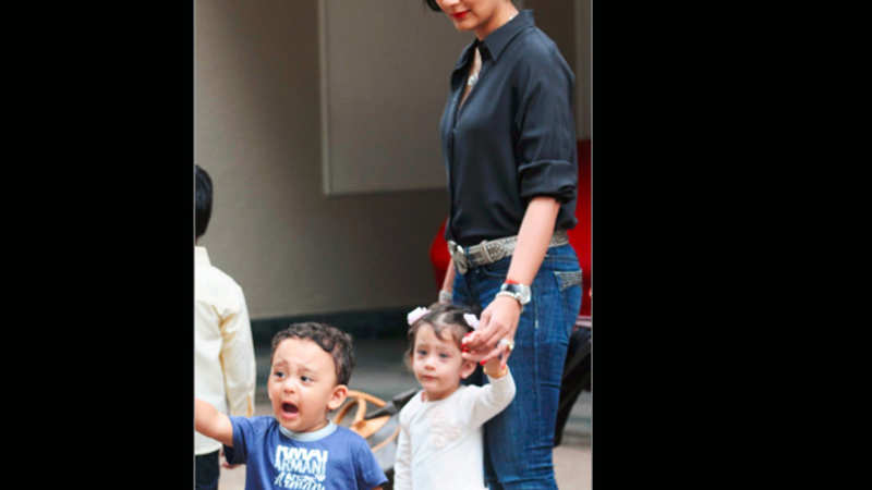 Manyata Dutt's day out with kids Shahraan and Iqra - The