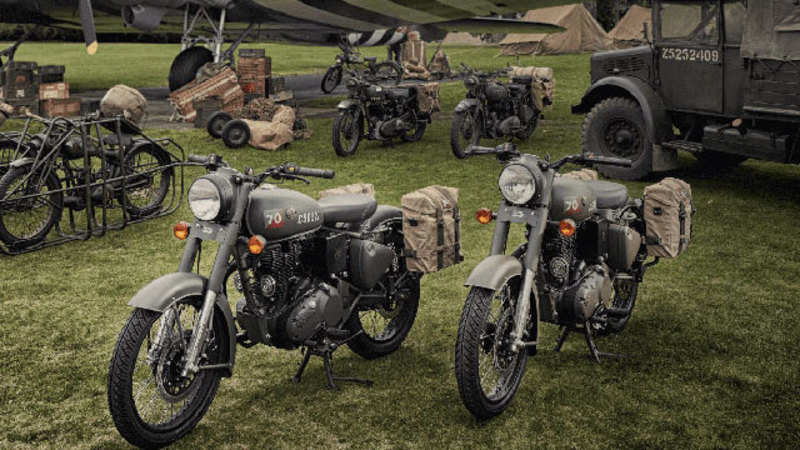 Royal Enfield: India's first World War II-inspired