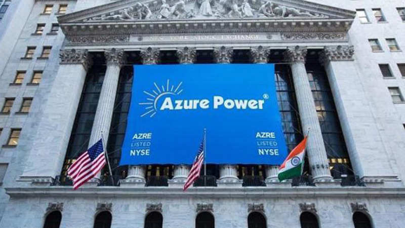 Azure Power: NYSE-listed Azure Power raises $500 million from sale