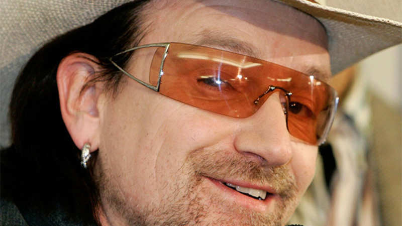 U2: Bono, masterly playful, playfully masterful, is always a