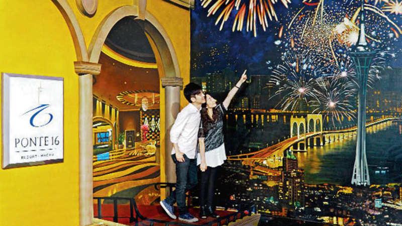 Pier 16 Macau 3D World: World's first 3D museum with 4D