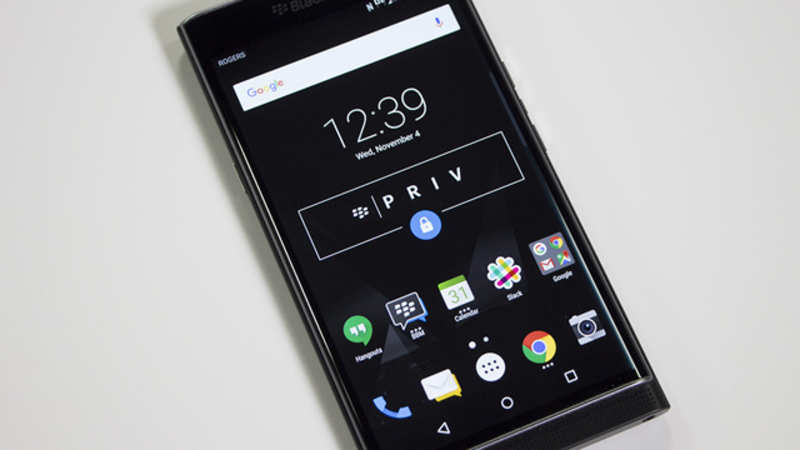 BlackBerry launches Android-powered Priv smartphone at Rs