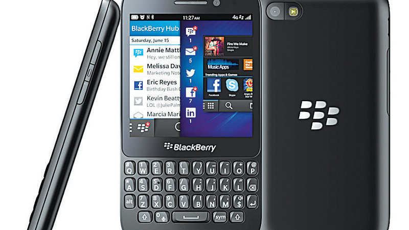 ET Review: BlackBerry Q5 - The Economic Times