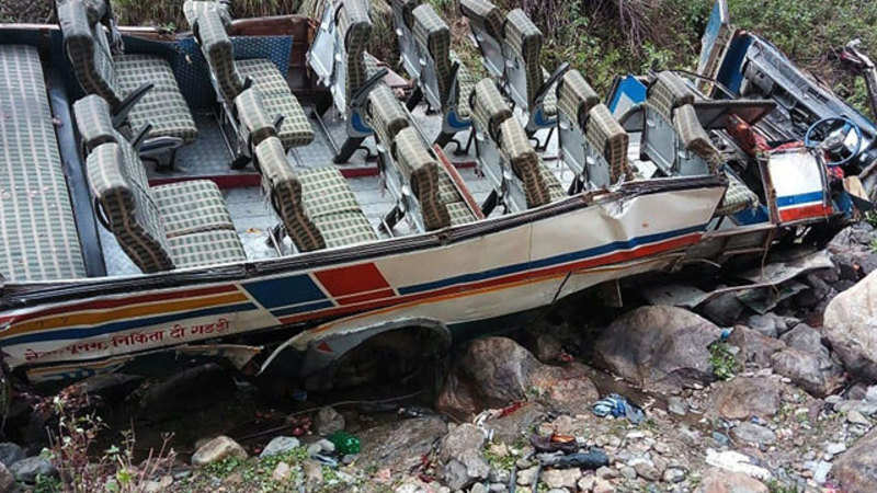 48 killed as bus falls into gorge in Uttarakhand - The