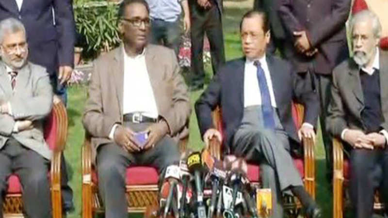 Supreme Court Judges: Ten things from today's press conference by 4