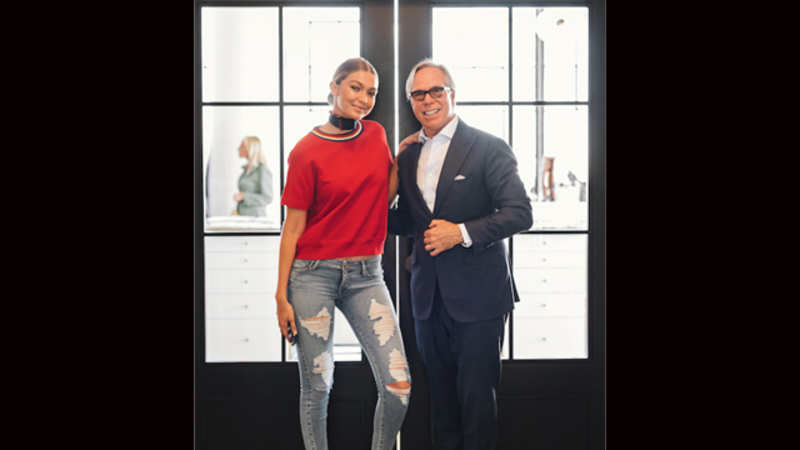 beb805724de53f Hadid will appear in the campaigns for the brand's women's wear line  beginning Fall 2016.