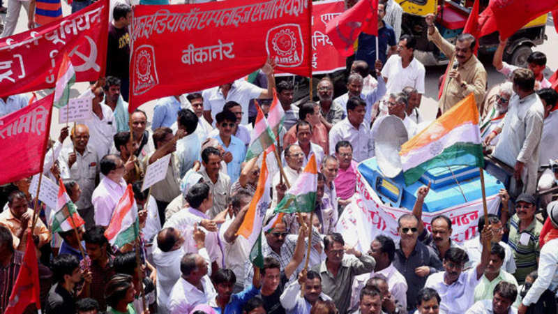 Strike by 18 crore workers all over India to push government to