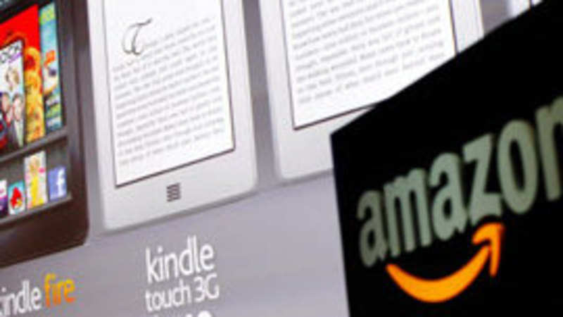Amazon launches Kindle store in India - The Economic Times