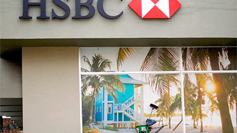 Black money: I-T dept conducts survey at HSBC bank in Mumbai