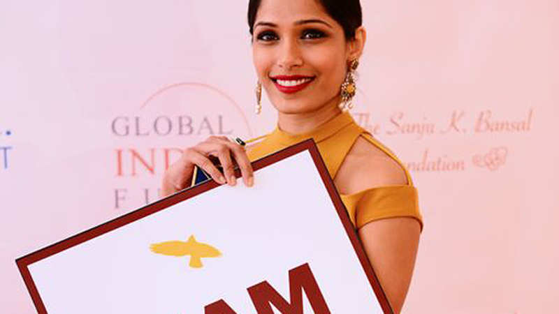 Freida Pinto impresses with passionate 'Girl Rising' speech in