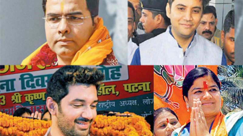 Lok Sabha Polls: Meet the sons & daughters of political