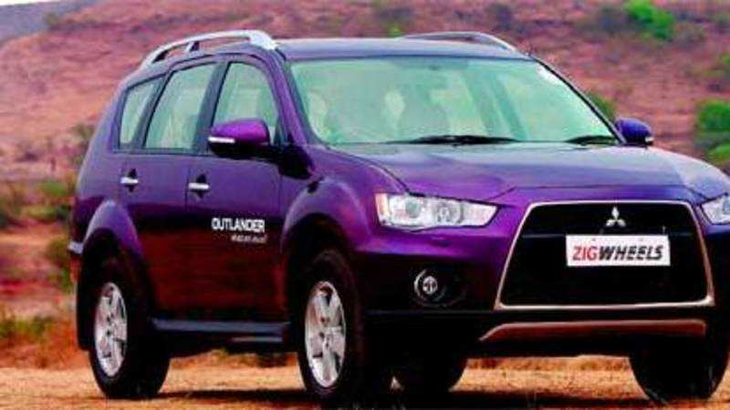 Mitsubishi Car Review Mitsubishi Outlander The Economic Times