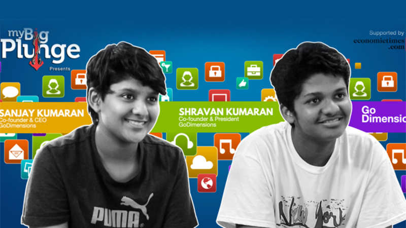 India's youngest app developers Shravan & Sanjay Kumaran shows us