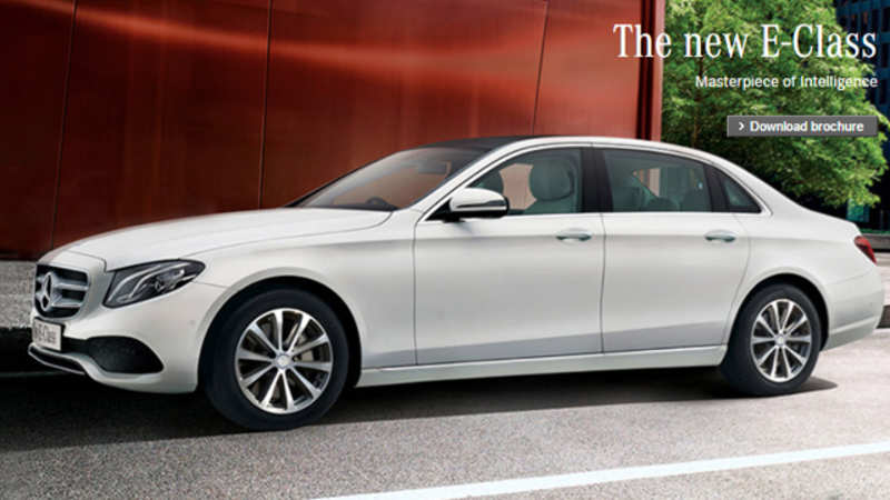 Made In India Mercedes Benz E Class Launched At Rs 56 15 Lakh The