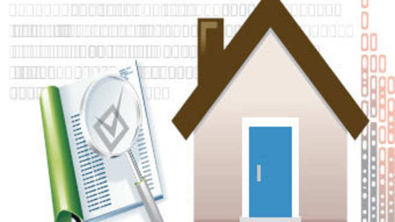 Search report indicates clear title of property - The
