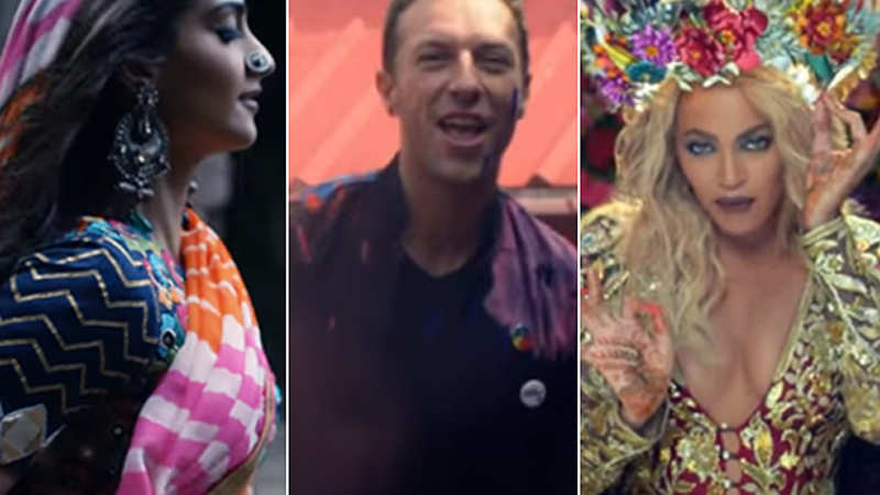 Coldplay' music video featuring Sonam Kapoor draws flak for