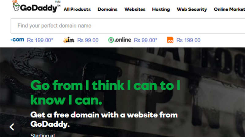 GoDaddy launches low-priced cloud hosting services in India - The