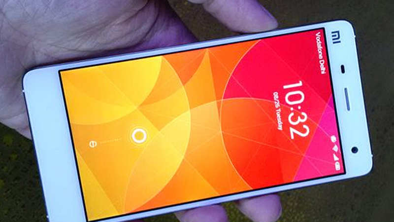 Xiaomi Mi 4 launched in India for Rs 19,999 - The Economic Times