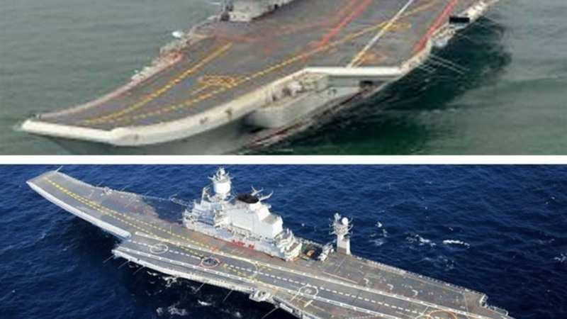 China's naval efforts may prove wanting in front of Indian Navy's
