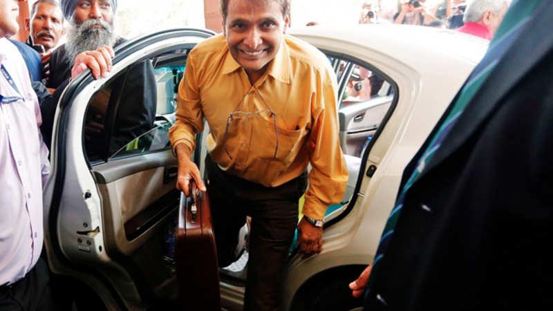 Rail Minister Suresh Prabhu launches passenger complaint portal